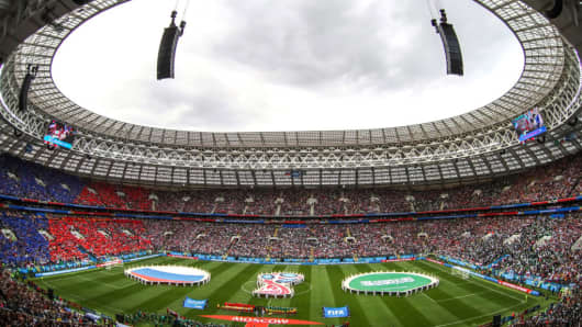 Russia World Cup stadium