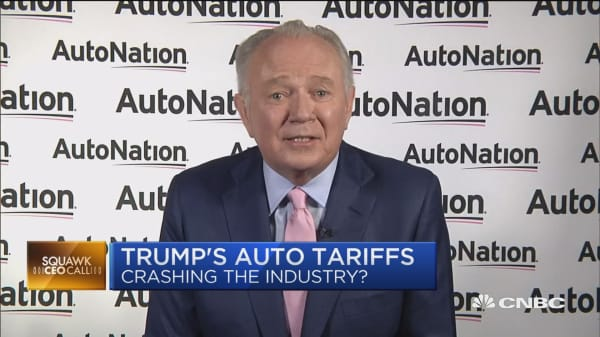 Trump's 'fact-free riff' on BMW tariff makes your head hurt, says AutoNation CEO