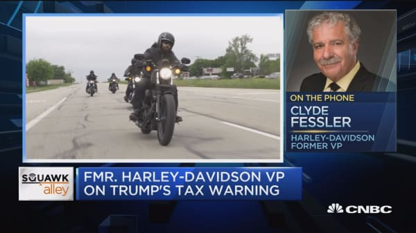Harley is becoming an international company, says former Harley VP