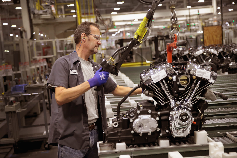 Harley Davidson Workers Back Trump Despite Jobs Shift