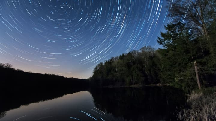 Southeast Ohio's Hocking Hills is one of the rare dark sky regions in the U.S.