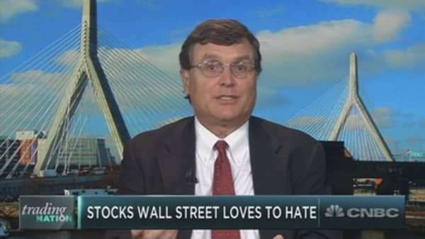 The stocks Wall Street loves to hate have been on a tear