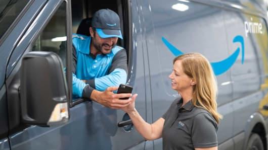 Amazon Prime Delivery Partner program.