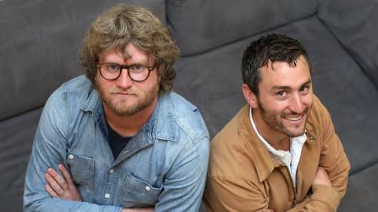 PillPack co-founders TJ Parker and Elliot Cohen.