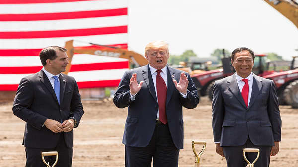Gov. Scott Walker: Foxconn would not be in America without President Trump