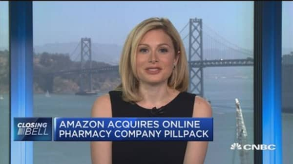 Amazon to be big in health care after PillPack deal