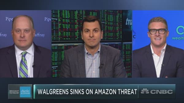Walgreens just plunged on Amazon's health care bet, and the pain may continue