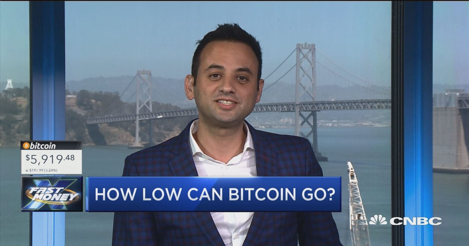 The man who called the bitcoin drop now sees...