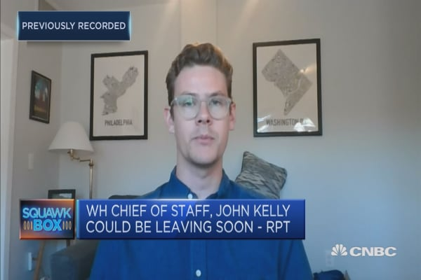 Discussing the possibility of John Kelly's White House exit