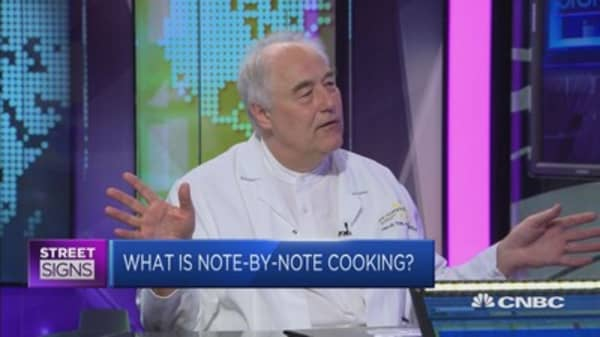 What is 'note-by-note' cooking?