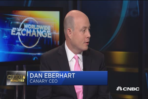 Dan Eberhart: Oil prices to keep rising