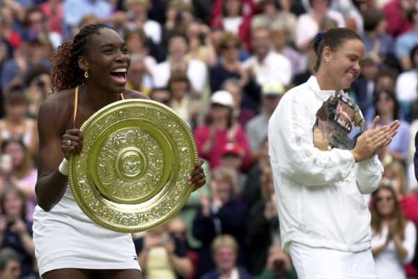 Venus Williams won her first Grand Slam at Wimbledon in 2000