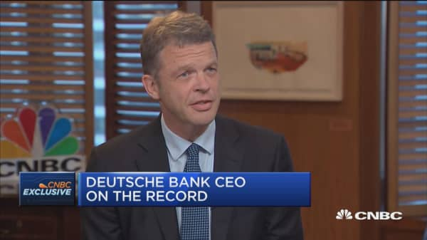 Deutsche Bank CEO: We are committed to US unit