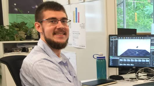 A spot in the apprenticeship program at IBM changed Josh Hannaford's career trajectory and doubled his salary.
