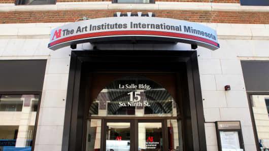 The Art Institutes International Minnesota on May 22, 2015 in Minneapolis, Minnesota.