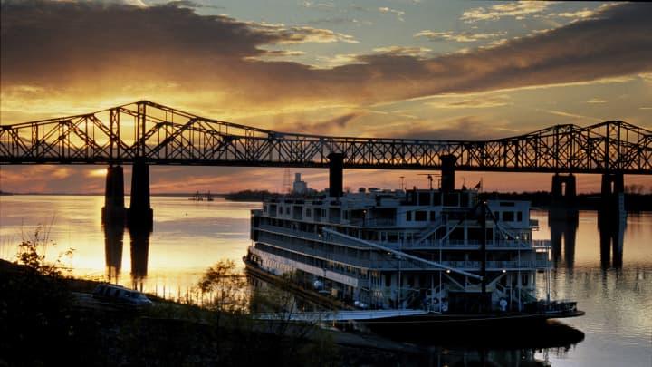 The Natchez Bridge, Mississippi