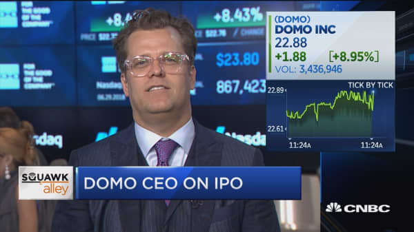 Domo CEO: We are focusing on our customers