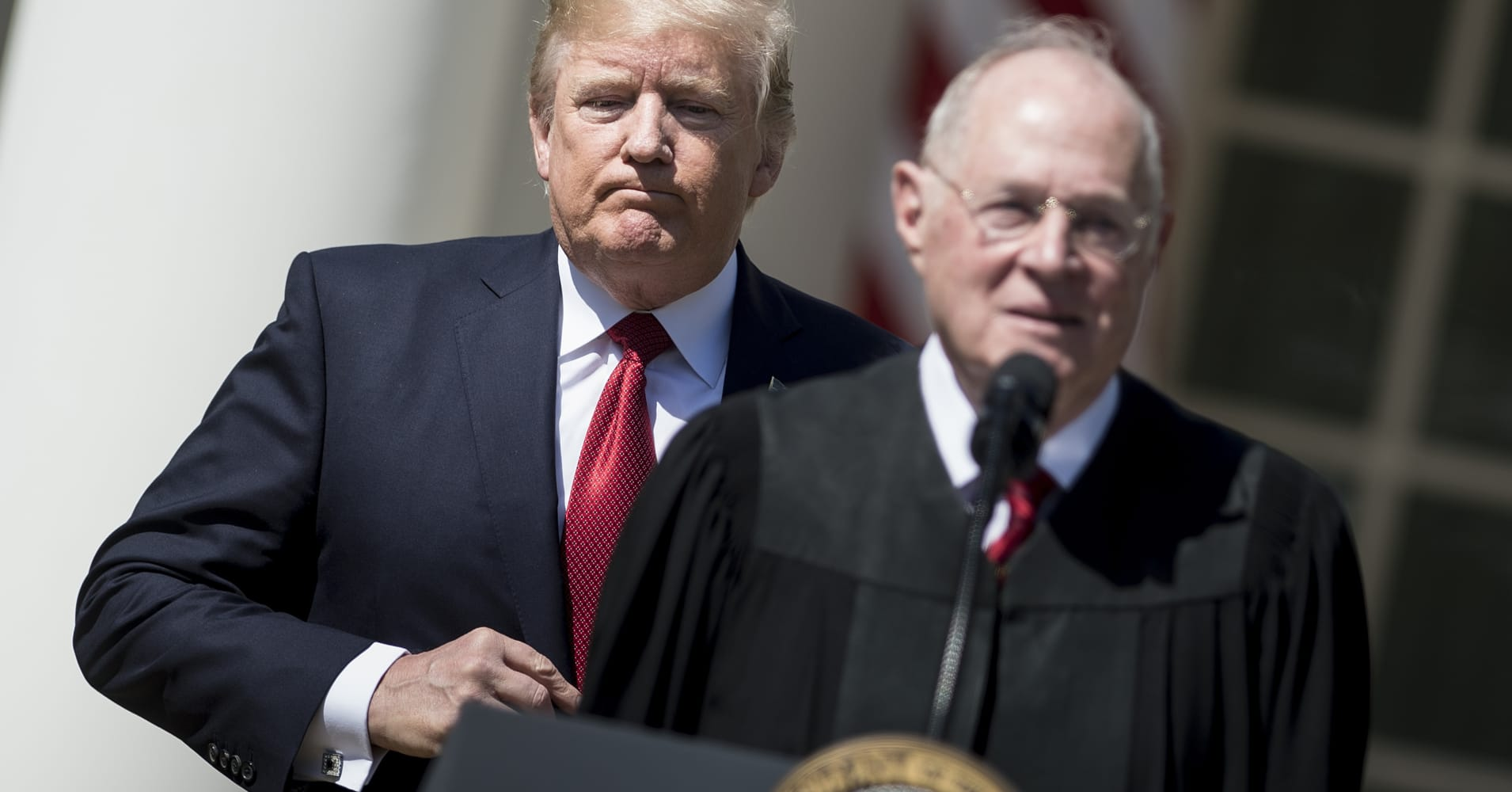 Trump privately indicated that he has settled on a Supreme Court nominee