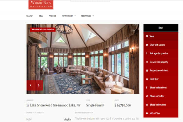 Photos Derek Jeter Selling Upstate New York Castle