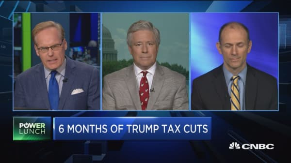 Have tax cuts helped the economy so far?
