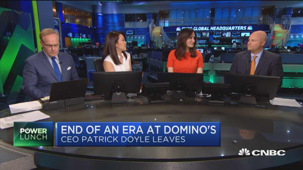The future for Domino's after CEO Patrick Doyle