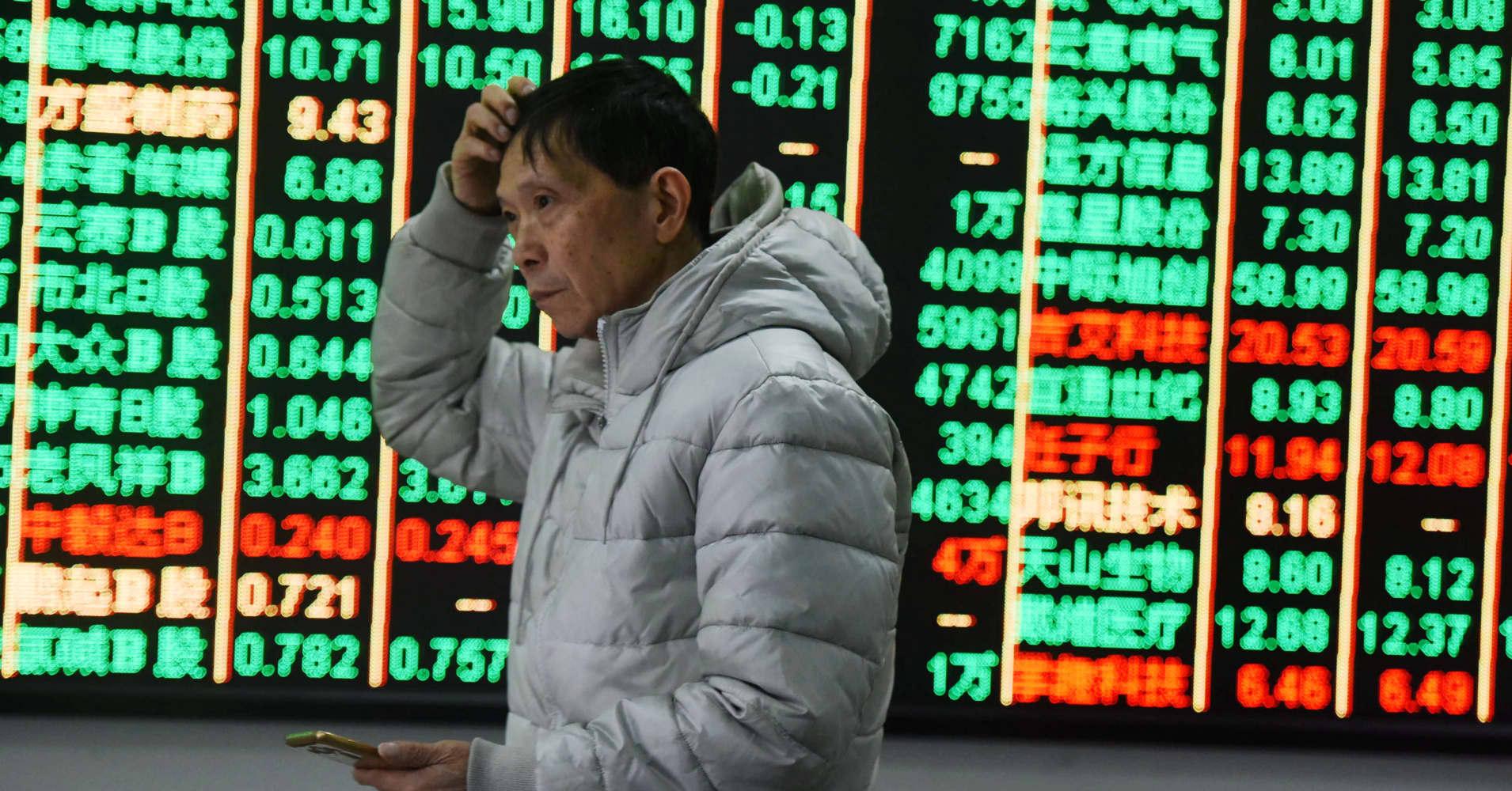 China stocks: Shanghai and Shenzhen markets fall