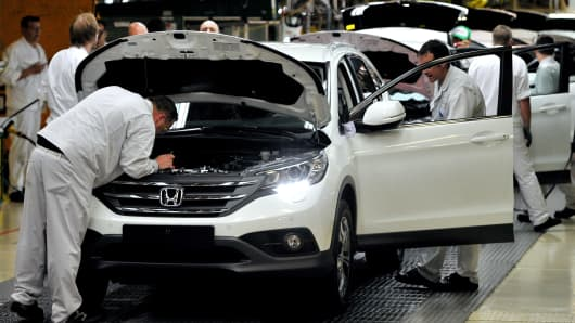 Honda Faces The Real Cost Of Brexit In A Former Spitfire Plant