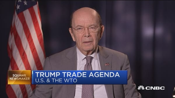 Sec. Ross: There are reforms needed at the WTO