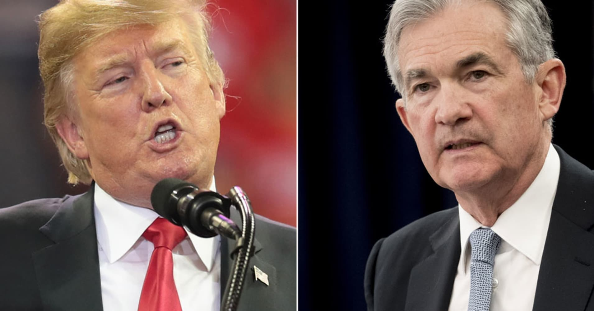 There's another big reason why Trump could blame the Federal Reserve for rising interest rates