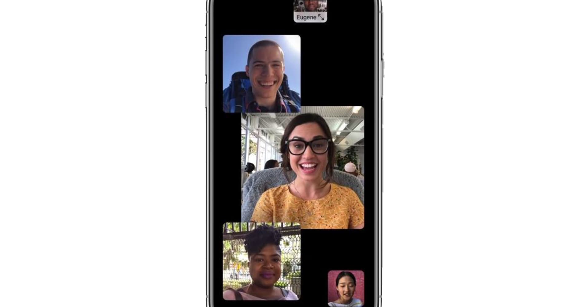 Apple delays group FaceTime, which it made a big deal over at its last event