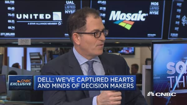 Dell CEO Michael Dell on going public and VMware
