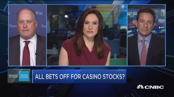 Trading Nation: Casino stocks crushed today