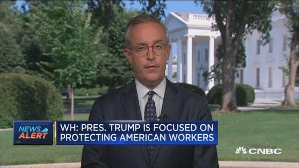 White House: Trump's tariffs aim to create a fair playing field