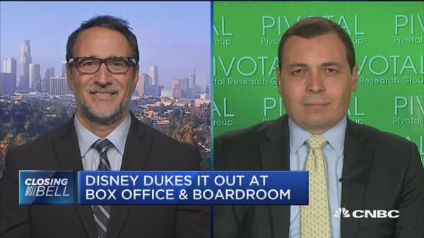 Disney dukes it out at box office and boardroom
