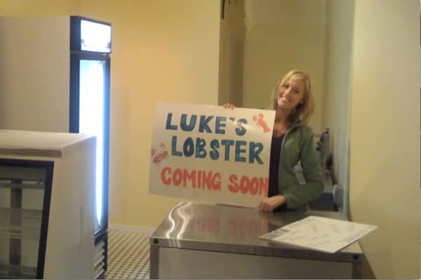 The company prepares for its first store opening in the fall of 2009.