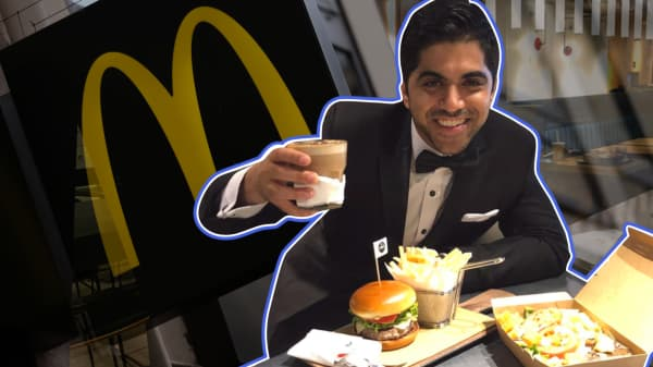 We tried out the world's fanciest McDonald's