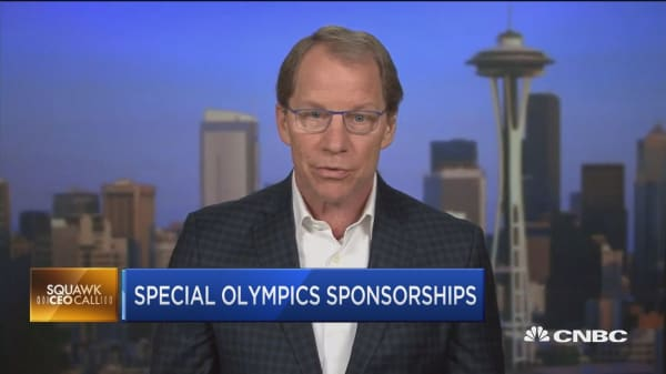 Brooks CEO: We're going all-in on Special Olympics