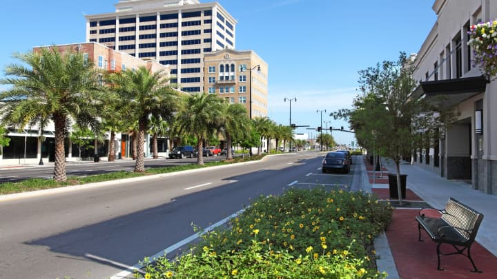 Downtown Gulfport, Mississippi