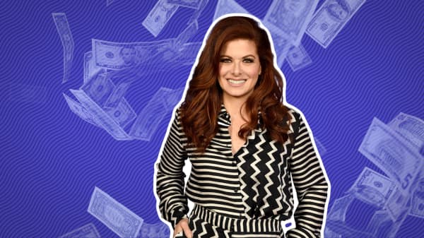 When actress Debra Messing was broke, here's how she splurged