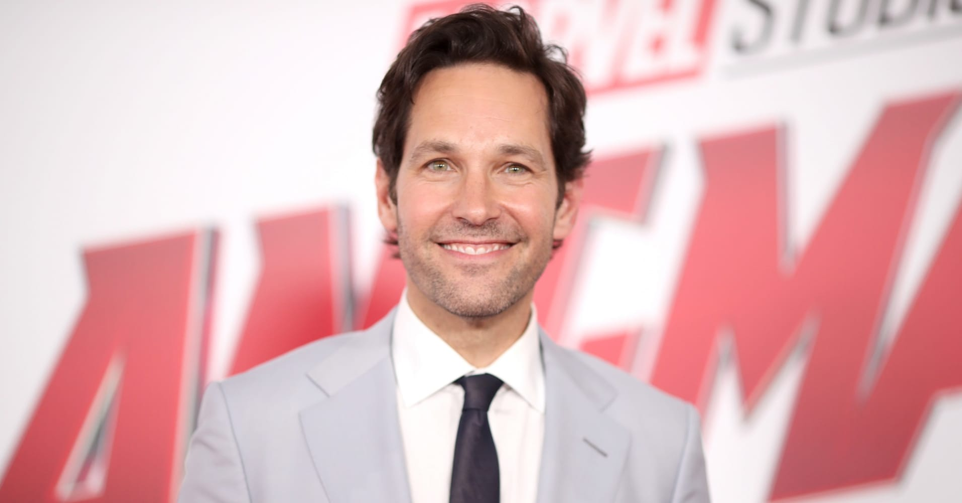 "Paul Rudd at ""Ant-Man and the Wasp"" premiere."