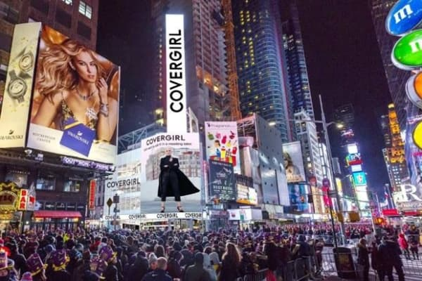 Makeup brand Covergirl is set to open its first store in New York City in fall 2018