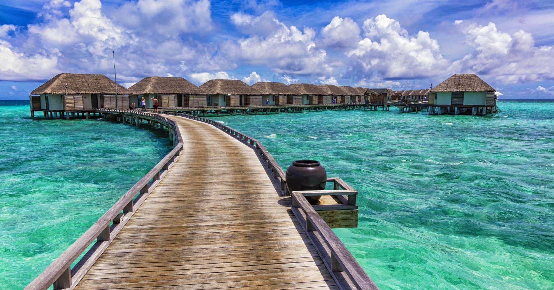 Maldives island resorts