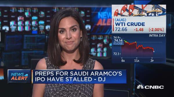 Saudi Aramco IPO doubts grow--DJ