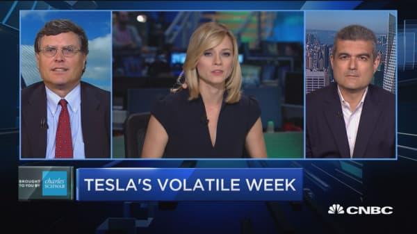 Trading Nation: Tesla's volatile week