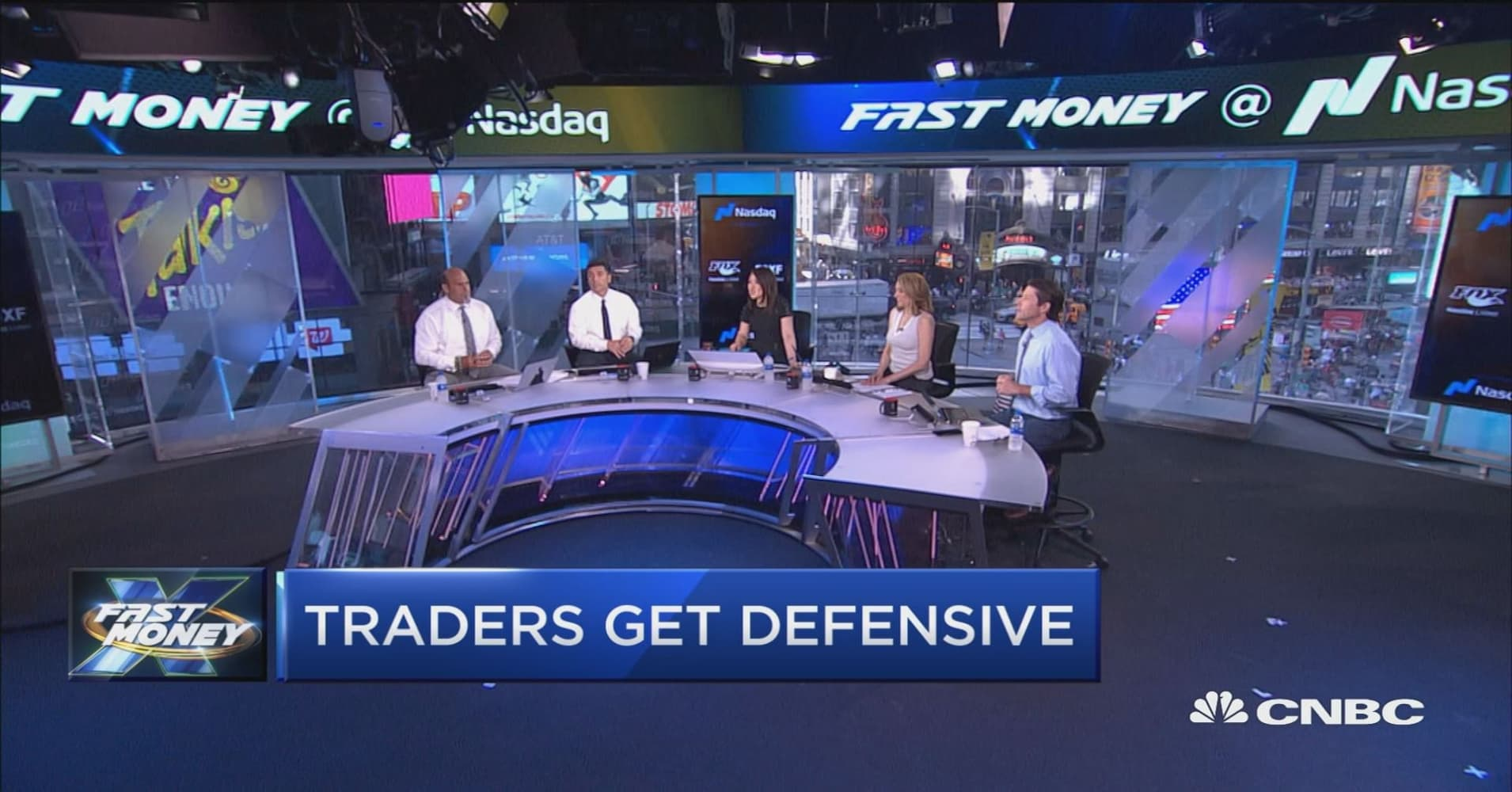 Traders get defensive... Is it time to play defense with your money?