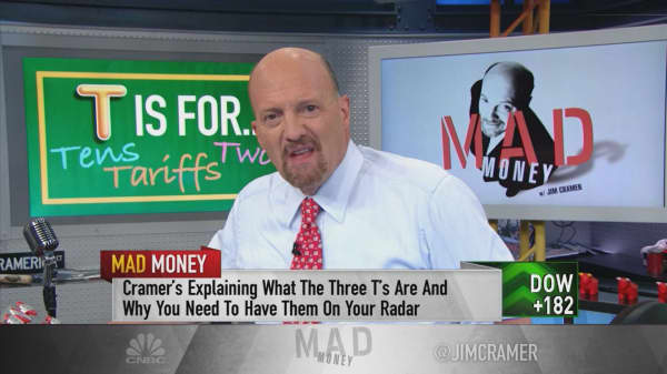 Cramer translates what US bonds are saying, and it's not good for the economy
