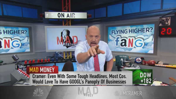 Cramer says 'accidentally anti-Chinese' FANG stocks are 'perfect for this market'