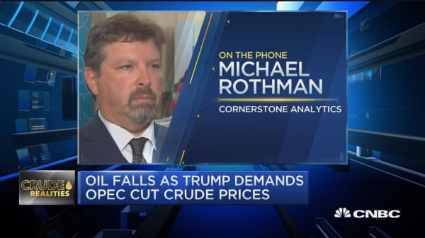 Michael Rothman talks about oil market trends