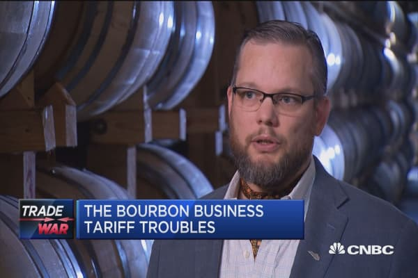 Whiskey sour: Tough tariffs hit distillers