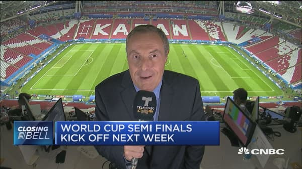 World Cup semi-finals kick off next week